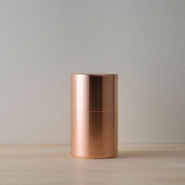 Kaikado Copper Tea Caddy