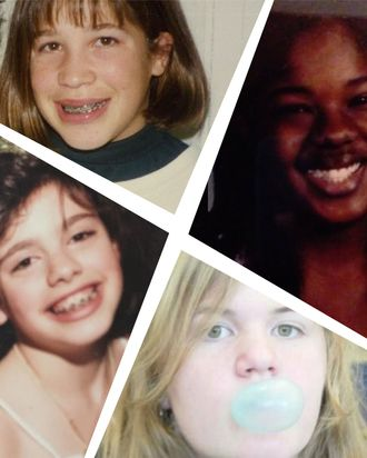 Clockwise from top left: Alison Leiby, Mariah Smith, Madeleine Aggeler, and Maris Kreizman.