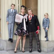 Rod Stewart Receives Knighthood At Buckingham Palace