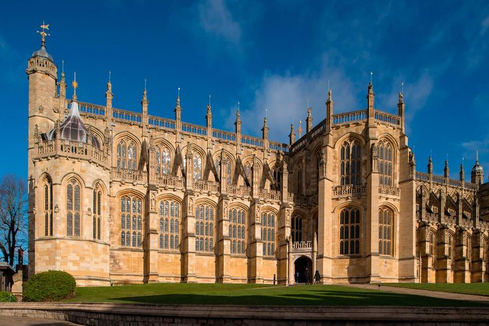 St. George's Chapel at Windsor Castle.