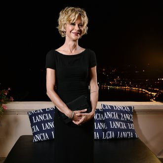 Meg Ryan attends the Lancia Cafe during the Taormina Filmfest 2013 on June 20, 2013 in Taormina, Italy.