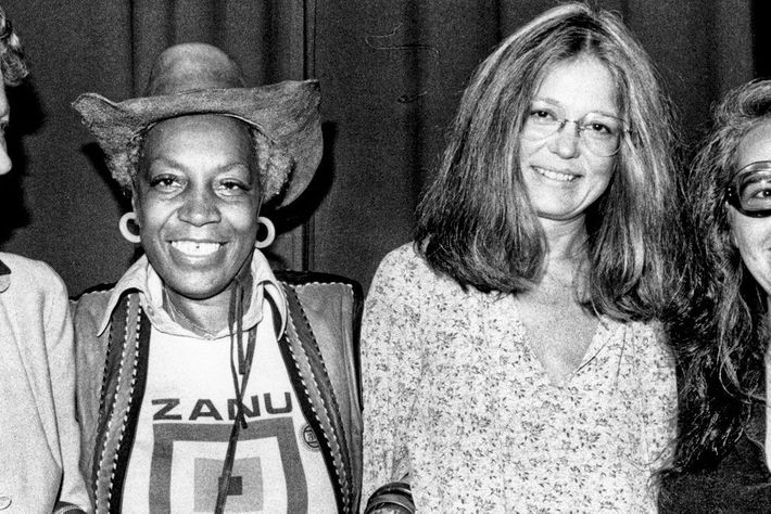 Flo Kennedy and Gloria Steinem.