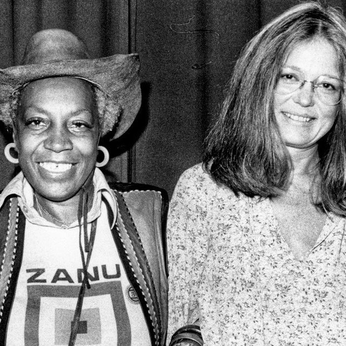 Flo Kennedy and Gloria Steinem.