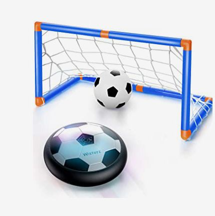 WisToyz Hover Soccer Ball Set with 2 Goals