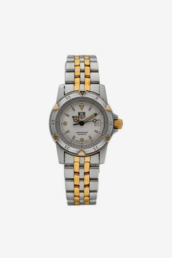 Vintage Tag Heuer WD421-G-20 Professional Two Tone 28mm Quartz Women's Watch