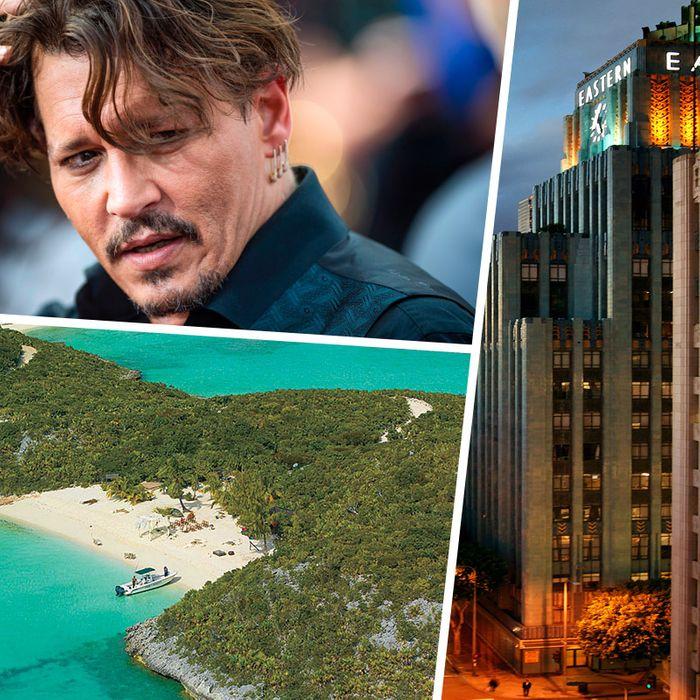 Johnny Depps 14 Houses Ranked