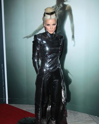 Daphne Guinness in her Hogan McLaughlin gown.