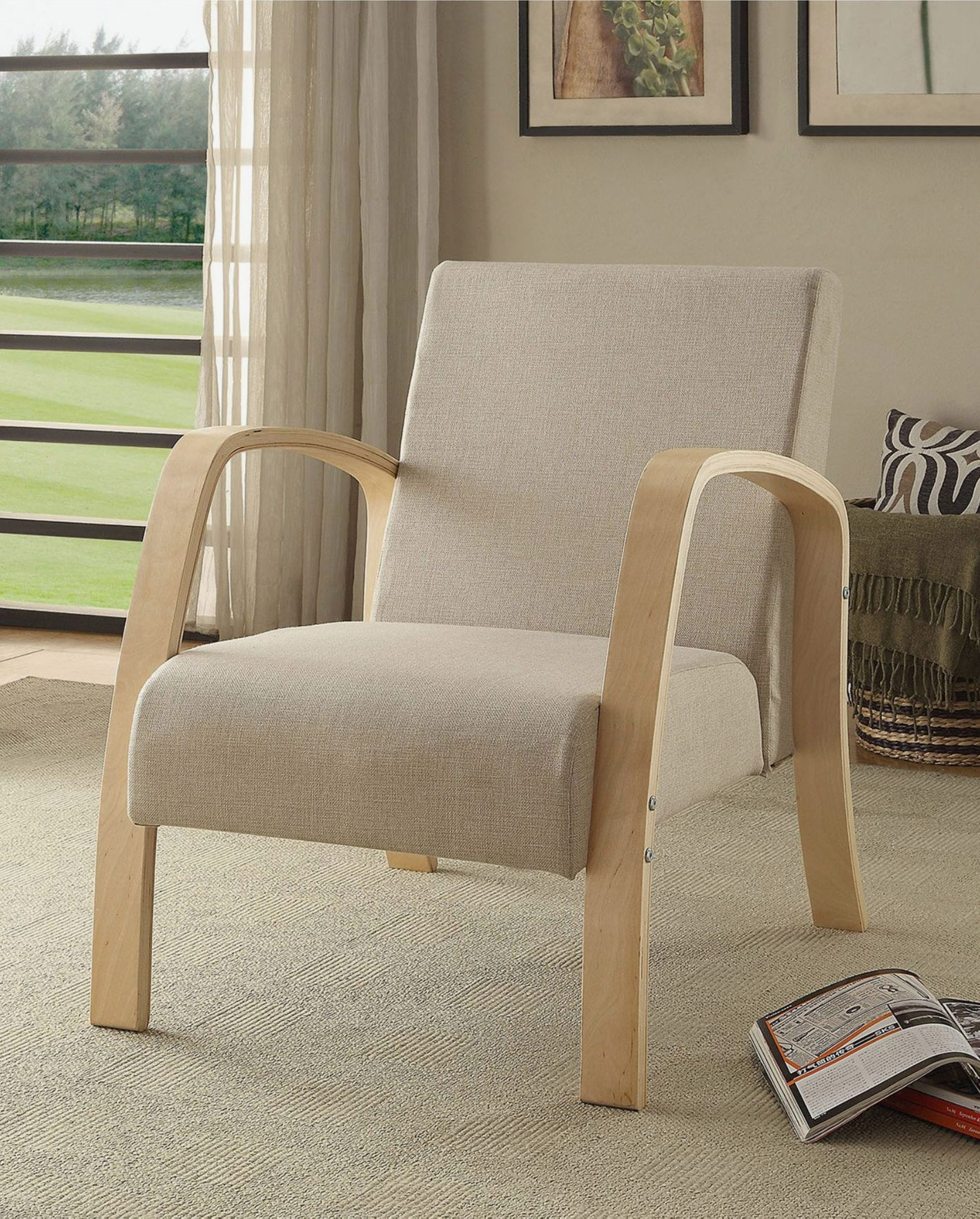 4D Concepts Danish Collection Arm Chair
