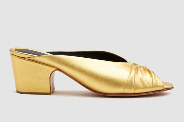 Rachel Comey Slither Ruched Mule