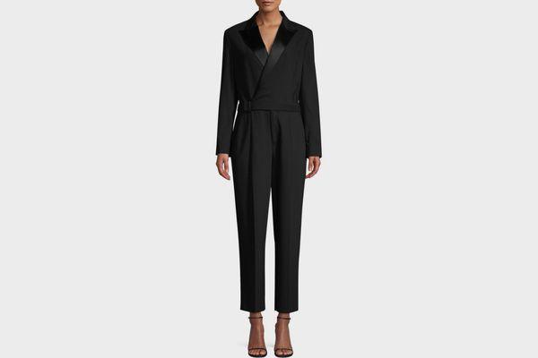 Polo Ralph Lauren Bryn Tapered Tuxedo Jumpsuit