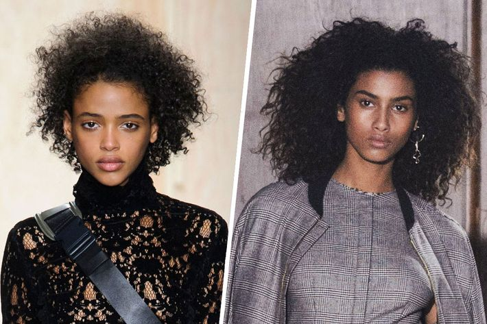 What Aya Jones and Imaan Hammam use on their hair.