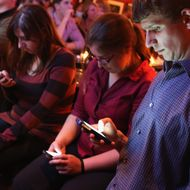Debate Watch Party Held In D.C. For First Democratic Party Debate In Vegas
