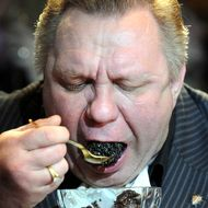 World winner of caviar consumption.