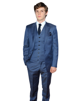 Actor Evan Peters arrives at the Premiere Screening of FX's