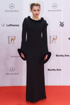 Miley Cyrus attends the Bambi Awards 2013 at Stage Theater on November 14, 2013 in Berlin, Germany.