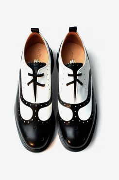 Kaya Two-Tone Wing Cap Brogue