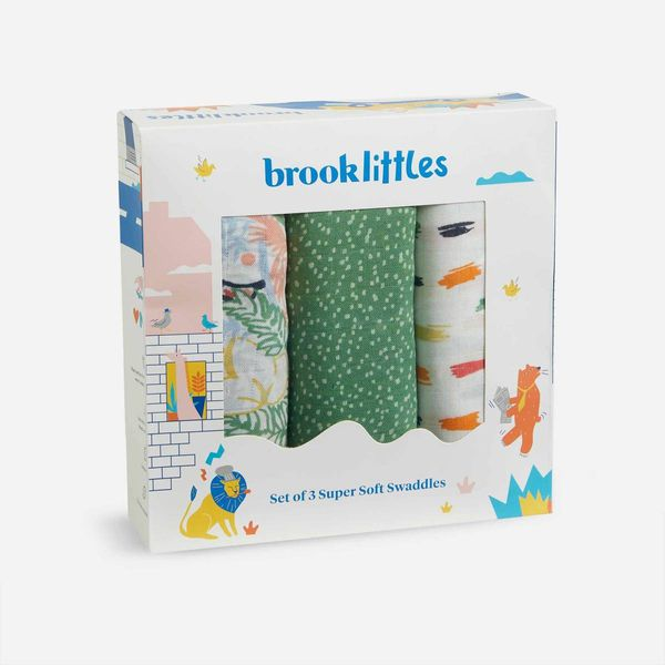 Brooklinen Baby Swaddle Set