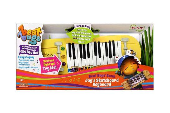 Beat Bugs Band Jay's Skateboard Keyboard