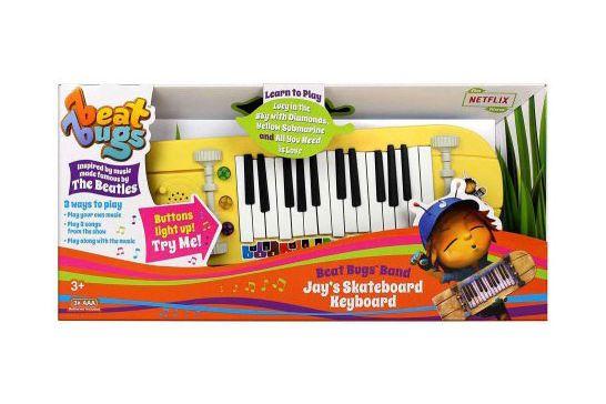 Beat Bugs Band Jay's Skateboard Keyboard