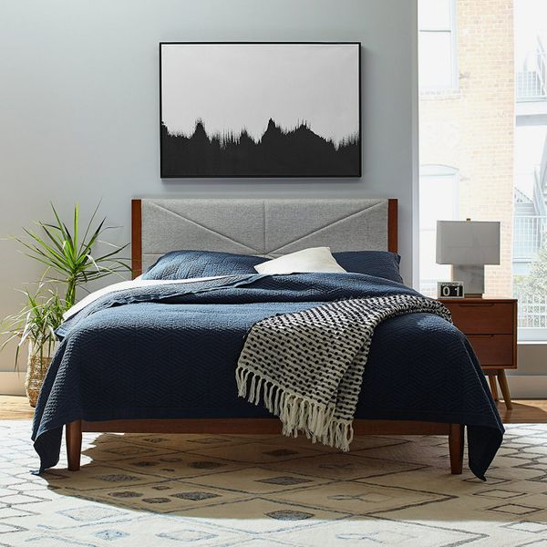 Rivet Modern Stone Washed Textured Geo Coverlet Full/Queen Set
