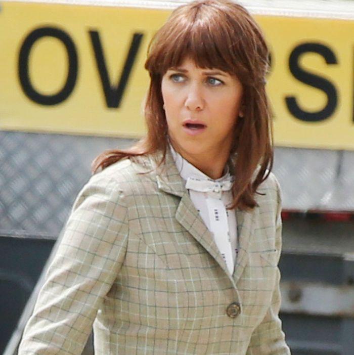 Kristen Wiig films 'Ghostbusters