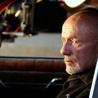 Mike (Jonathan Banks) - Breaking Bad - Season 4, Episode 5 - Photo Credit Ursula Coyote/AMC - BBEpisode405Day8(CamB1)-146