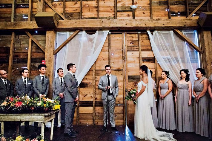 Nymag Real Weddings: Real Wedding Album: Christine Liang And Nick DiLallo