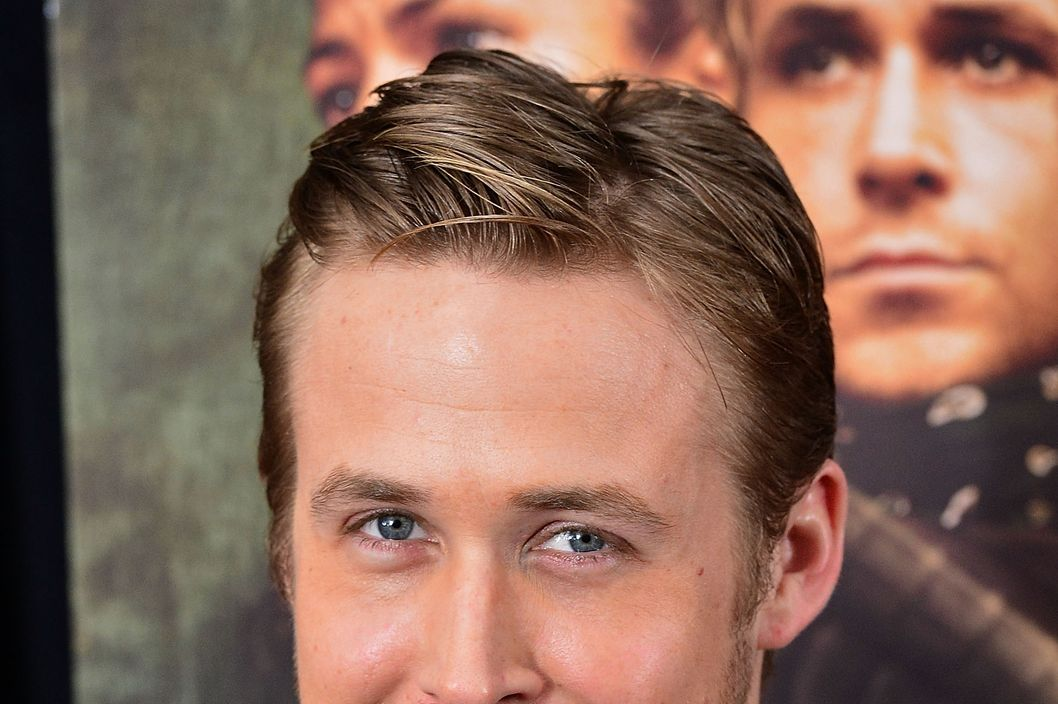 "NEW YORK, NY - MARCH 28:  Ryan Gosling attends ""The Place Beyond The Pines"" New York Premiere at Landmark Sunshine Cinema on March 28, 2013 in New York City.  (Photo by James Devaney/WireImage)"