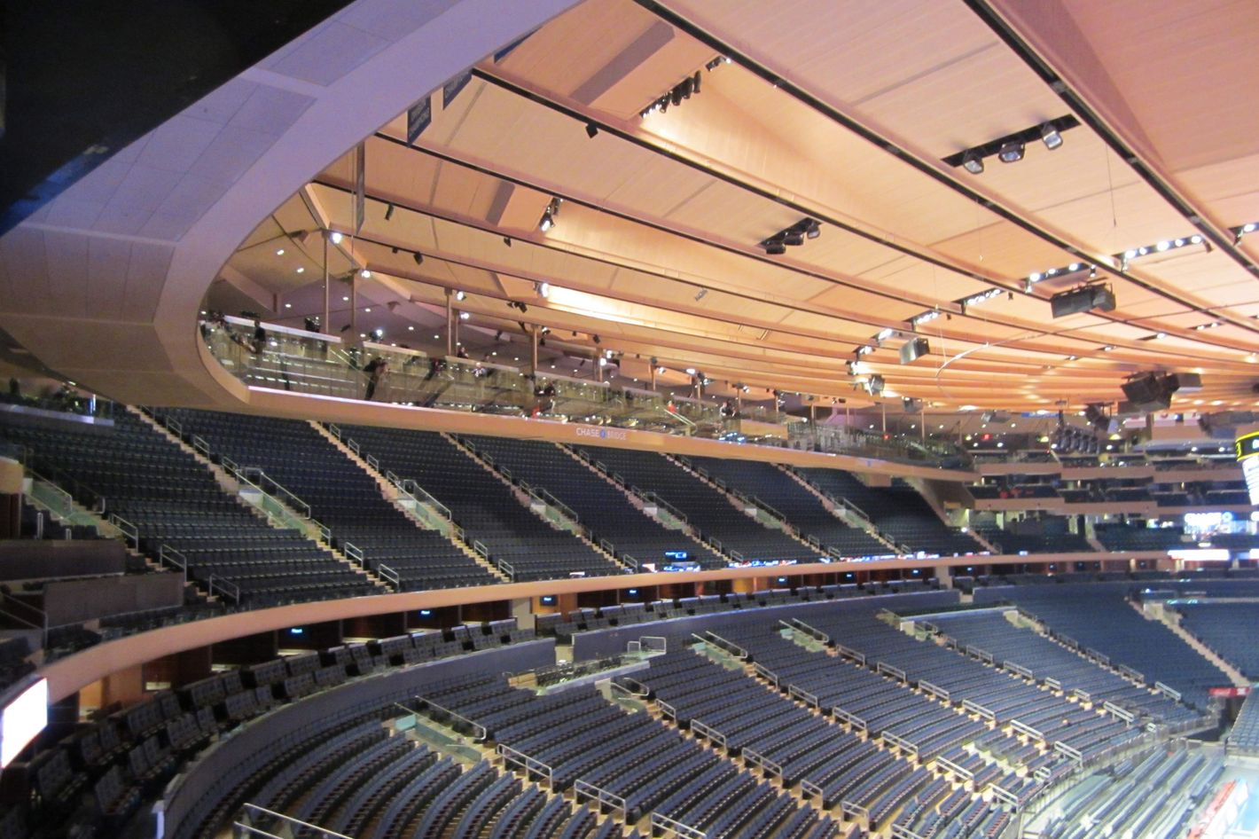 Madison Square Garden Ceiling