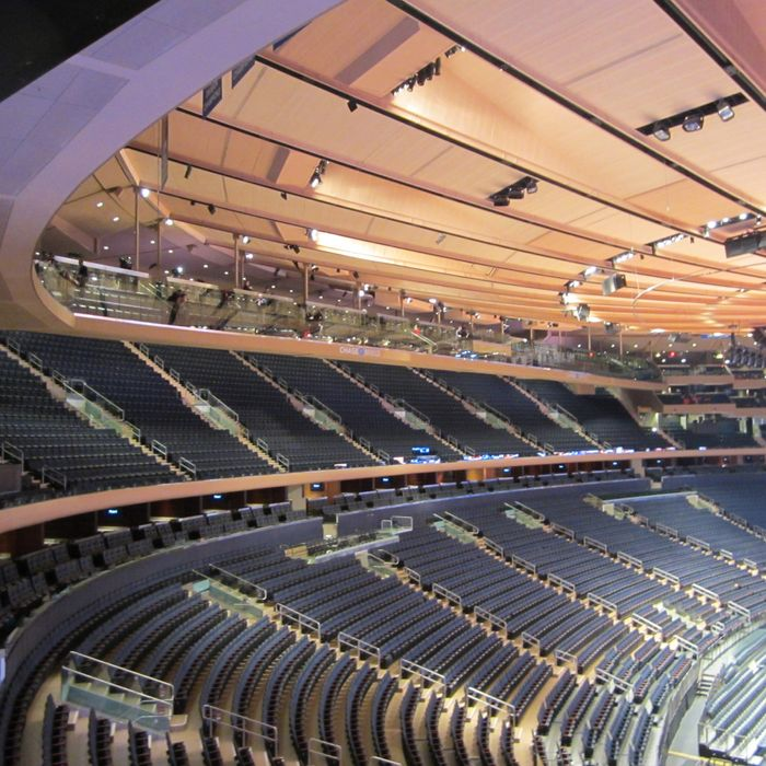 One Of The Two Bridges Spanning Length Madison Square Garden