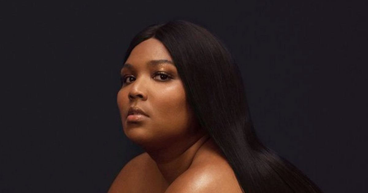Lizzo Wears Nothing But a Wig on Her New Album Cover