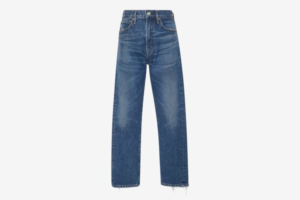 Citizens Of Humanity Dree High-Rise Slim-Leg Crop Jeans