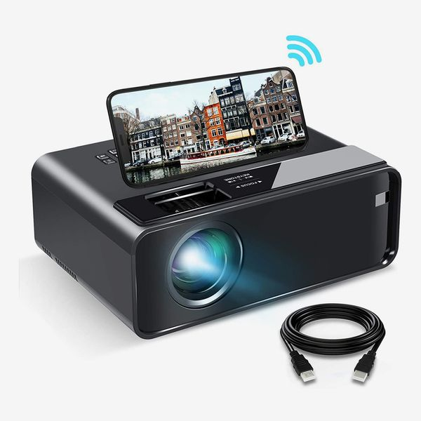 ELEPHAS 2020 WiFi Mini Projector with Synchronize Smartphone Screen