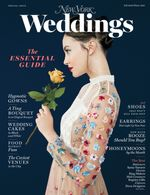 Cover of New York Magazine's Winter 2017 Wedding issue