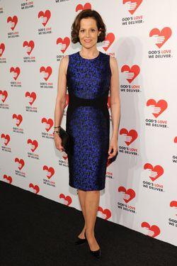 Actress Sigourney Weaver attends God's Love We Deliver 2013 Golden Heart Awards Celebration at Spring Studios on October 16, 2013 in New York City.