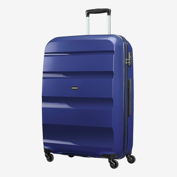 American Tourister Bon Air Spinner Suitcase 75 cm, 91 L, Blue (Midnight Navy)