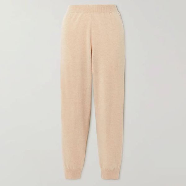 Stella McCartney Cashmere and Wool-Blend Track Pants