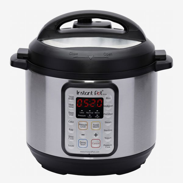 Instant Pot Viva 6 Quart 9-in-1 Multiuse Pressure Cooker With Easy Seal Lid and Sous-Vide Program