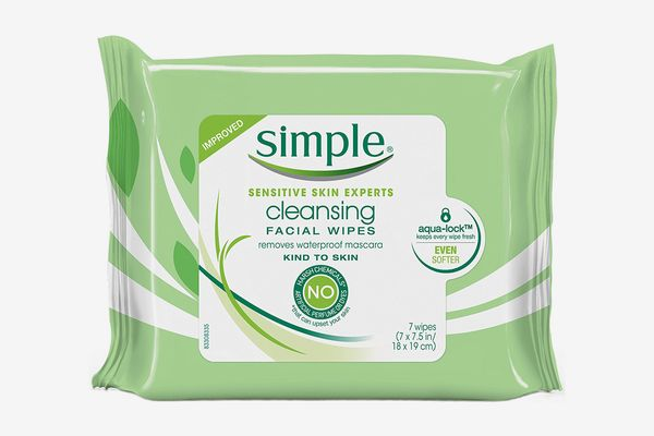 Simple Cleansing Facial Wipes, 7 count