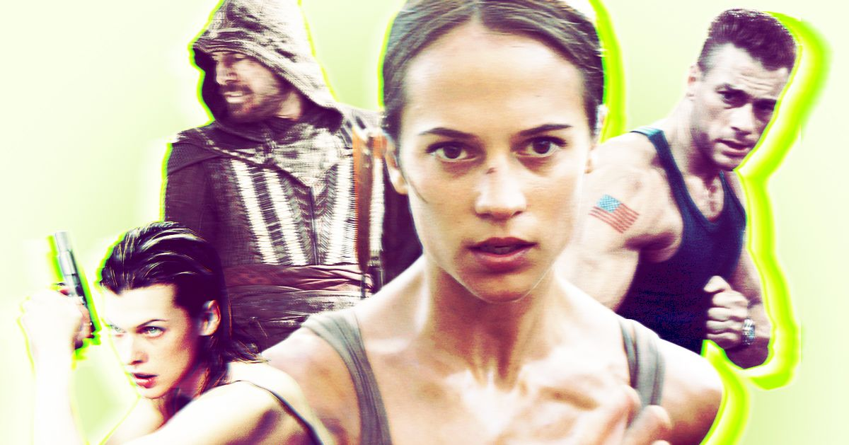 The Best And Worst Video Game Movies Ranked