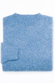 J. Press Shaggy Dog Trim Fit Sweater, Blue