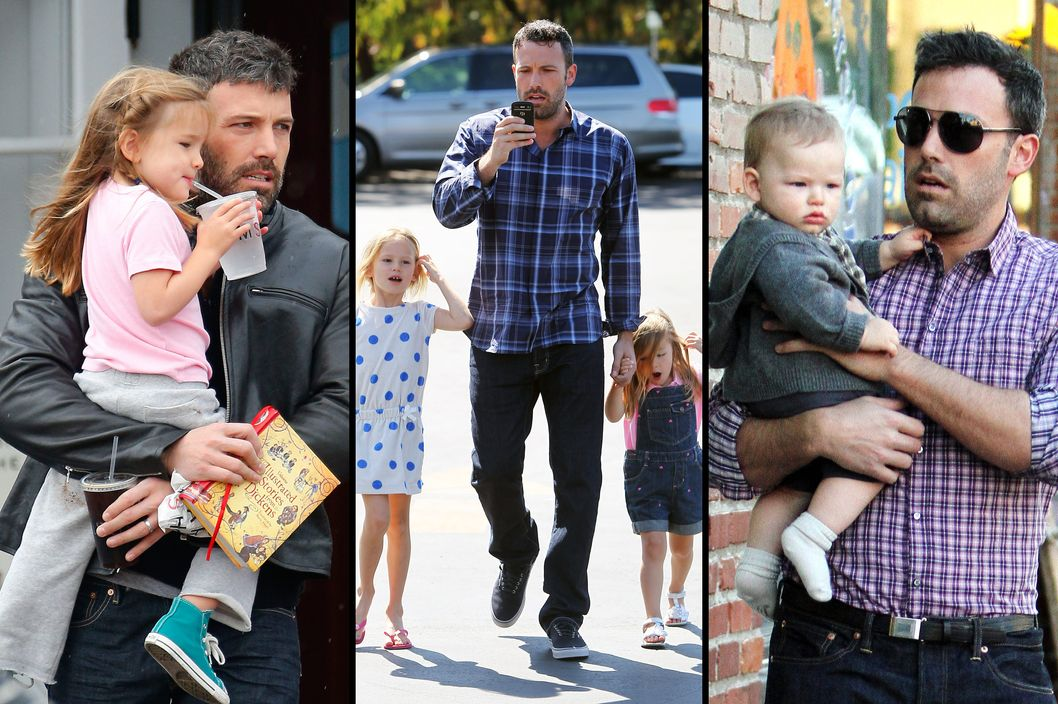 Ben Affleck takes baby son Samuel Affleck to dinner with wife Jennifer Garner and his daughters Violet Affleck and Seraphina Affleck in Pacific Palidades, California. <P> Pictured: Ben Affleck and Samuel Affleck <P><B>Ref: SPL452420  271012  </B><BR/> Picture by: Headlinephoto / Splash News<BR/> </P><P> <B>Splash News and Pictures</B><BR/> Los Angeles:	310-821-2666<BR/> New York:	212-619-2666<BR/> London:	870-934-2666<BR/> photodesk@splashnews.com<BR/> </P>