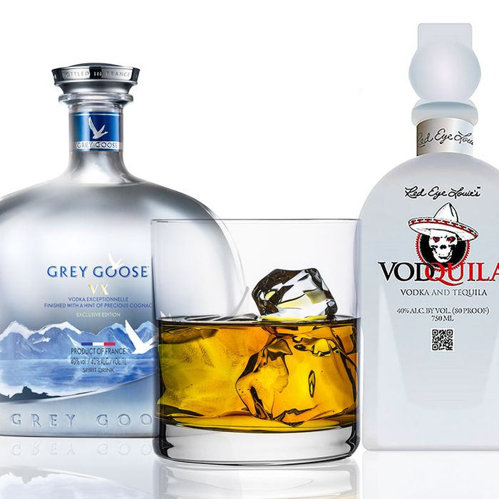 Scotch-infused bourbon joins tequila-vodka and Cognac-infused Grey Goose.
