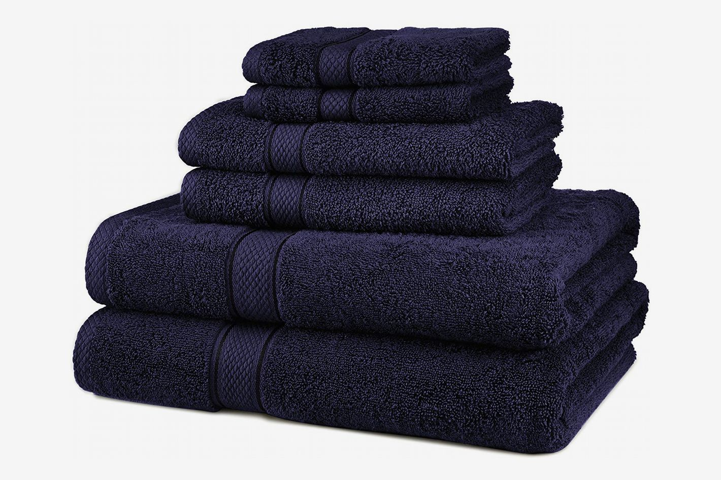 Pinzon 6-Piece Egyptian Cotton Towel Set