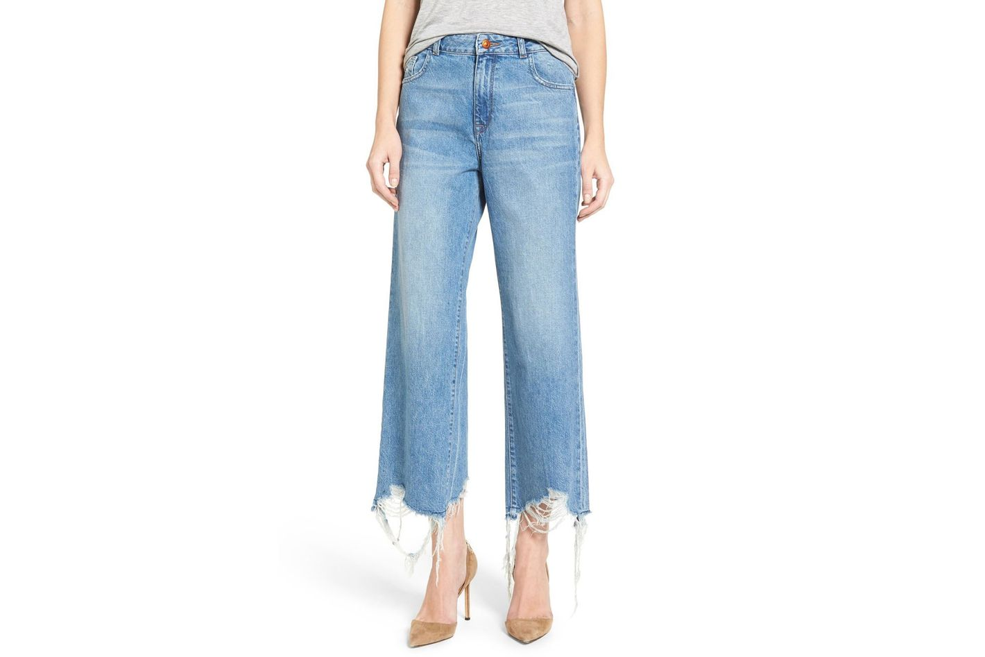 DL1961 Hepburn High-Rise Wide-Leg Jeans