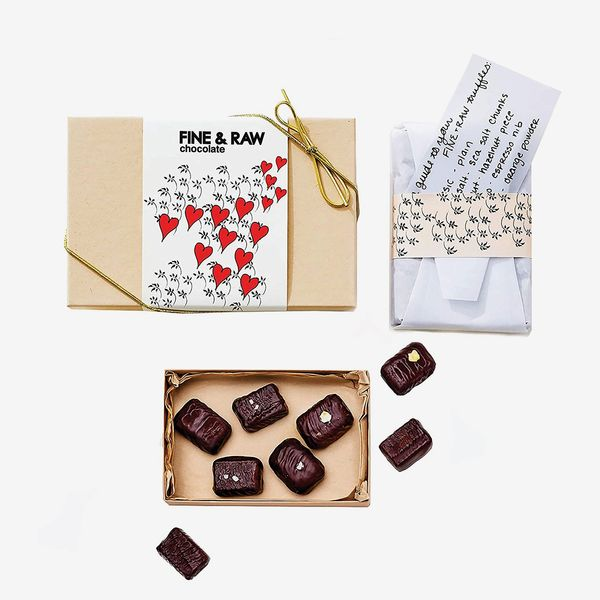 Fine & Raw Valentine's 8 Piece Truffle Set