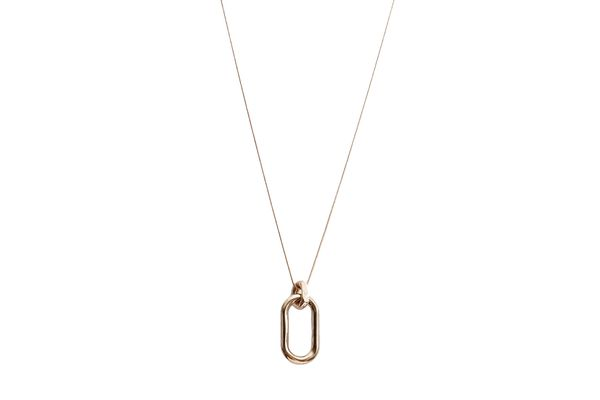 Pamela Love Beaumont Pendant in Brass