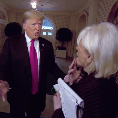 The Dumbest Moments From Trumps  Minutes Interview