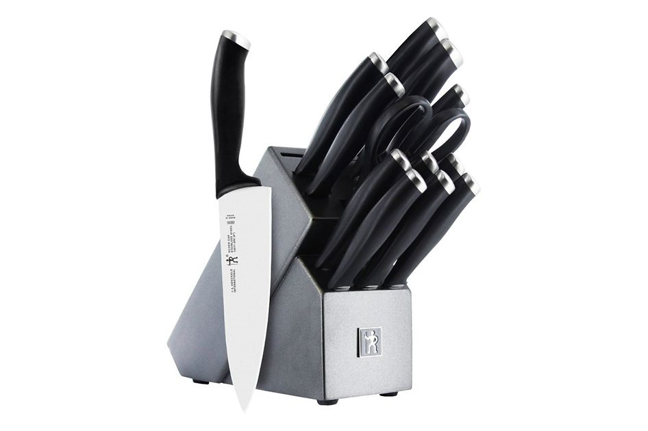 J.A. Henckels International Silvercap 14-Piece Knife Set