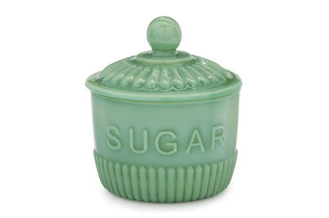 Sur la Table Jadeite Sugar Bowl
